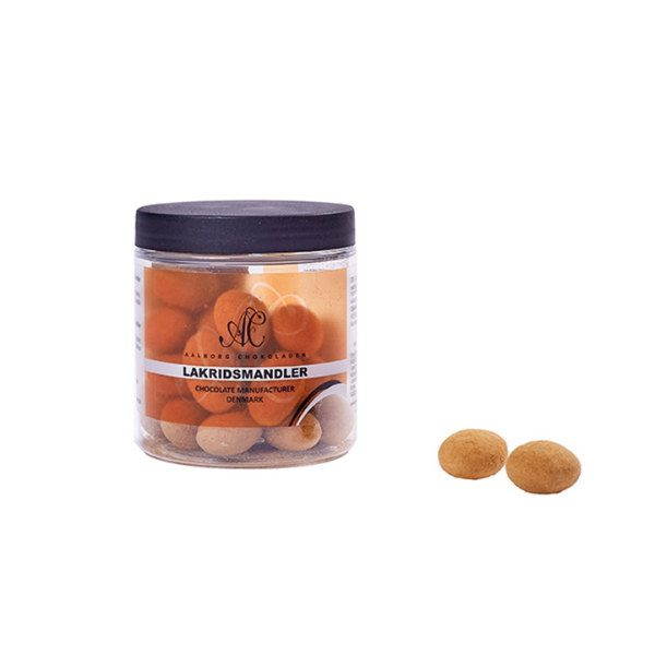 Lakrids mandler i dåse fra Ålborg chokolade - The & ide