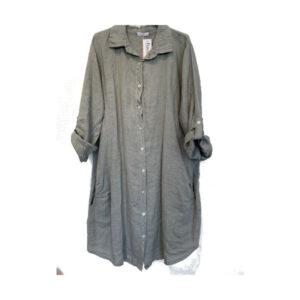 Hoffmann hørskjorte grå
