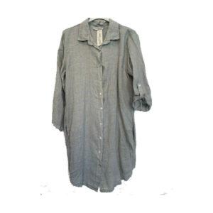 Hoffmann hørskjorte lysgrå
