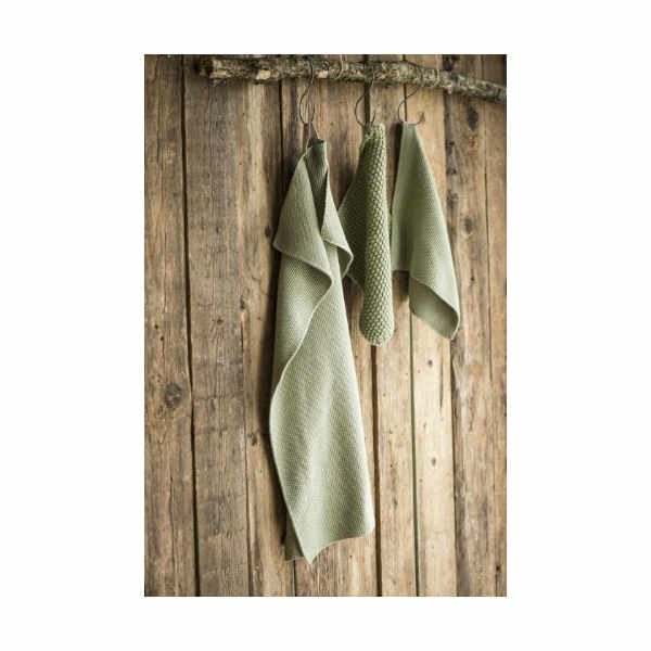 håndklæde oliven The & ide