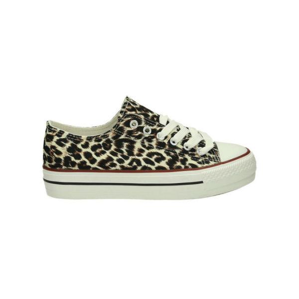 Sneakers sko dyreprint
