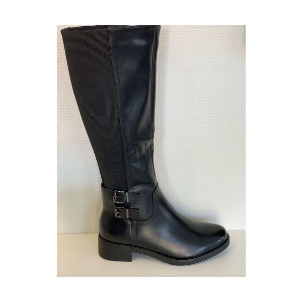 Lange sorte støvler