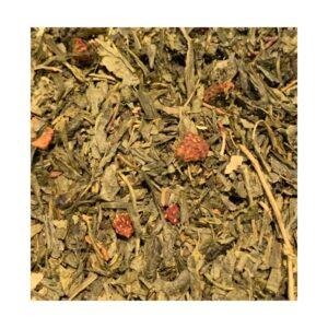 grøn skovbær te