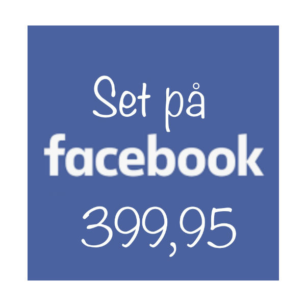 Set på Facebook 399.95 The & ide