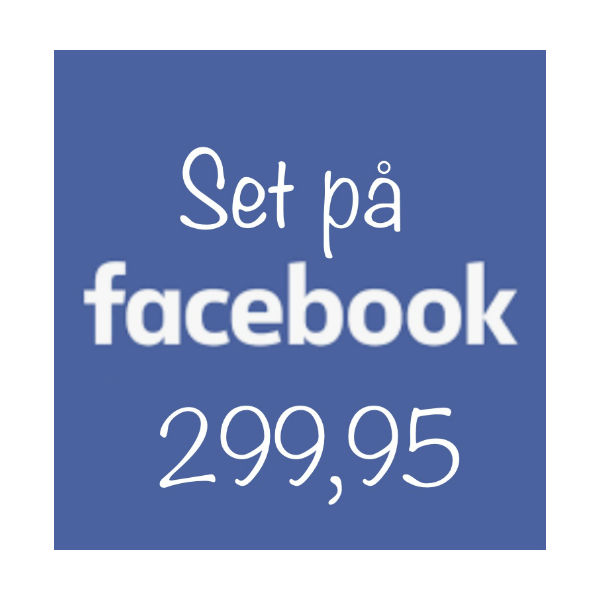Set på Facebook 299.95 The & ide