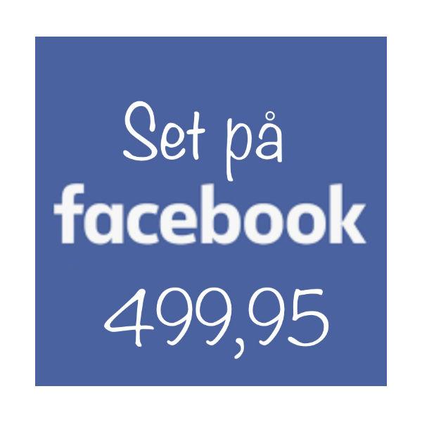 Set på Facebook 499.95 The & ide