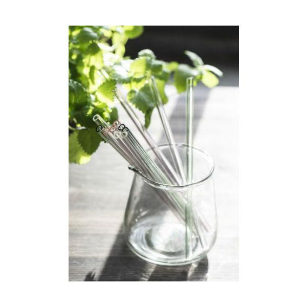 Sugerør i glas