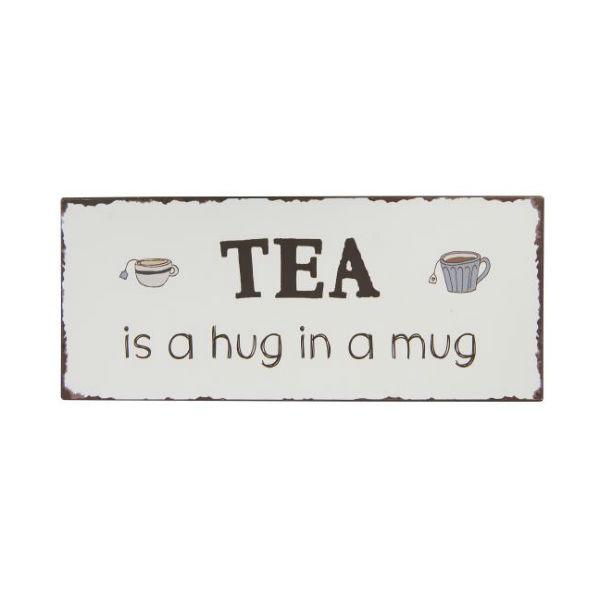 metalskilt tea