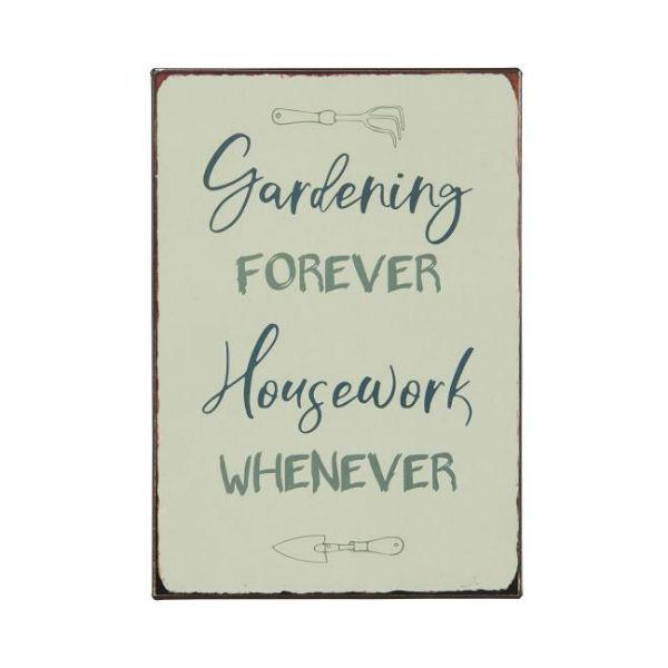 metalskilt gardening