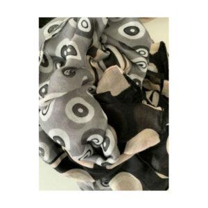 Eghoff tørklæde grå