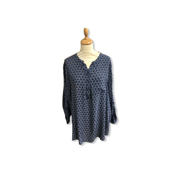 Eghoff skjorte blå