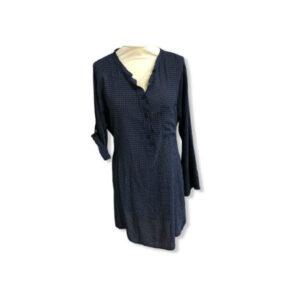 Eghoff skjorte lang blå
