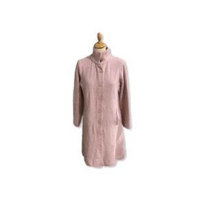 Eghoff strik jakke lyserød