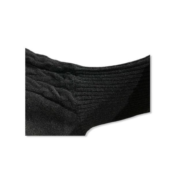 Eghoff poncho med ærme sort