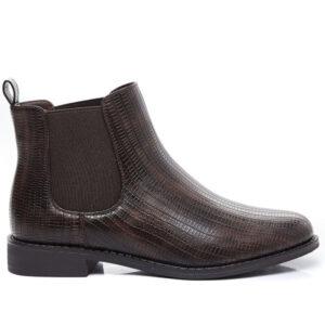 kort støvle brun