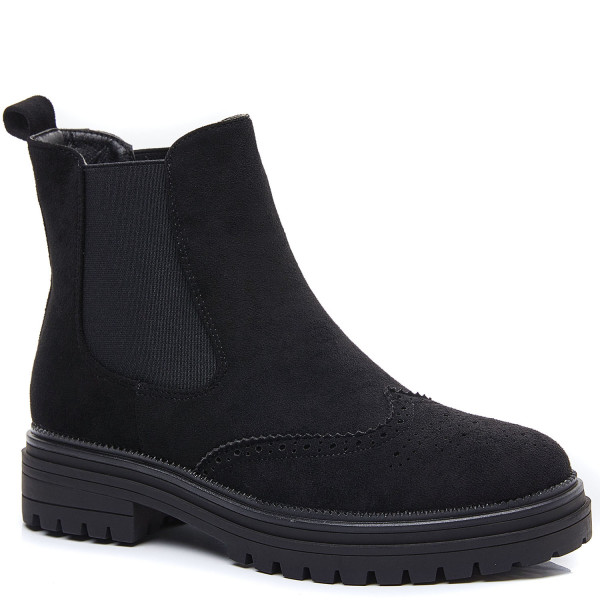 Korte sorte støvler