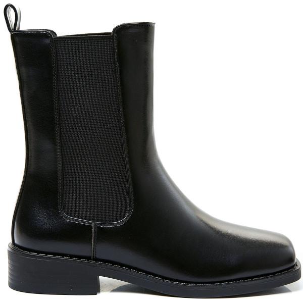 3/4 længde sorte støvler
