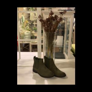 kort støvle grøn