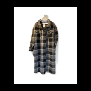 Ternet uld jakke