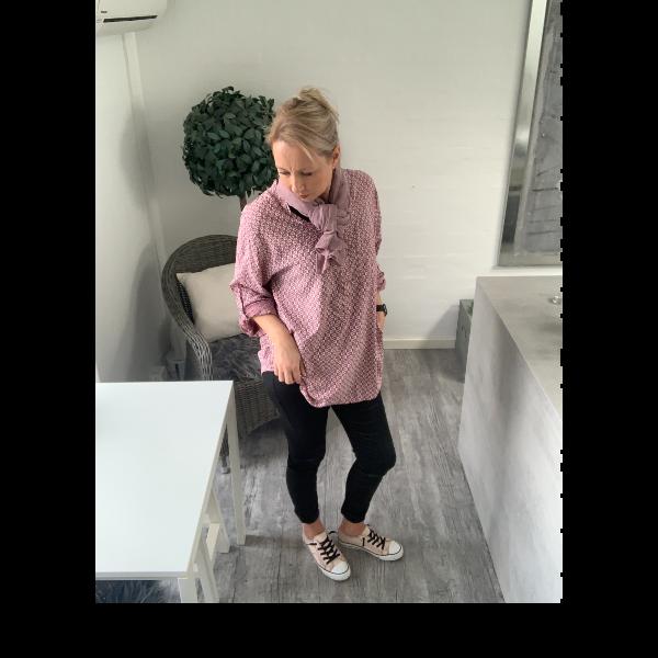 Eghoff skjorte rosa