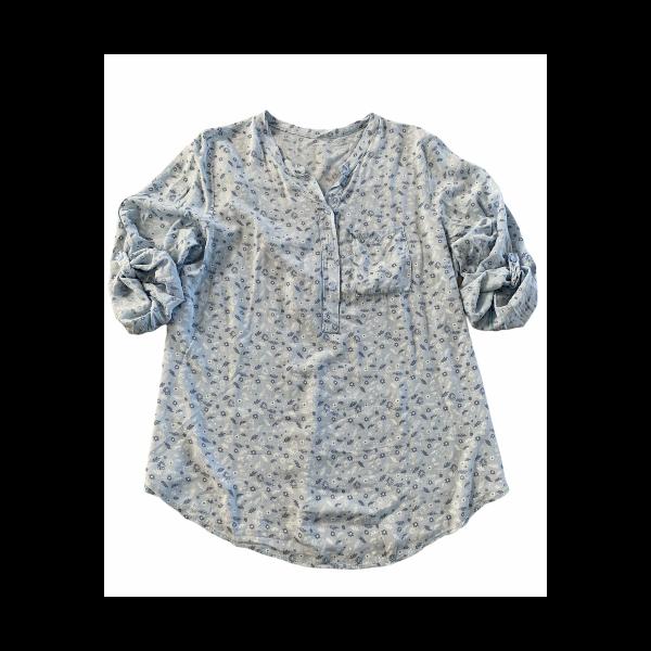 Eghoff skjorte lys blå