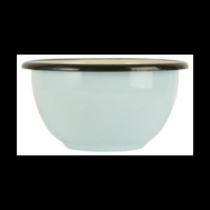 skål emalje lysblå stor