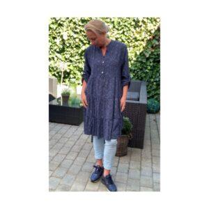 Eghoff kjole blå